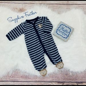 🆕CARTER'S terry cloth monkey pajamas